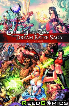 Grimm Fairy Tales The Dream Eater Saga Volume 1 Graphic Novel