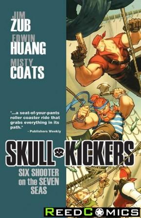 Skullkickers Volume 3 Six Shooter on the Seven Seas Graphic Novel