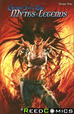 Grimm Fairy Tales Myths and Legends Volume 4 Graphic Novel