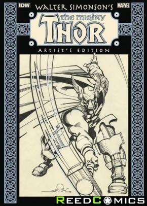 Walter Simonson Mighty Thor Artist Edition Hardcover (New Printing)