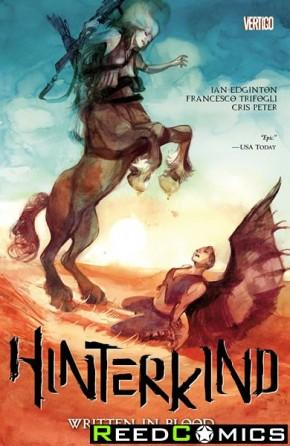 Hinterkind Volume 2 Written In Blood Graphic Novel
