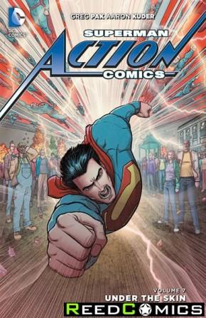 Superman Action Comics Volume 7 Under The Skin Hardcover