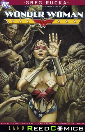 Wonder Woman Land of the Dead Graphic Novel