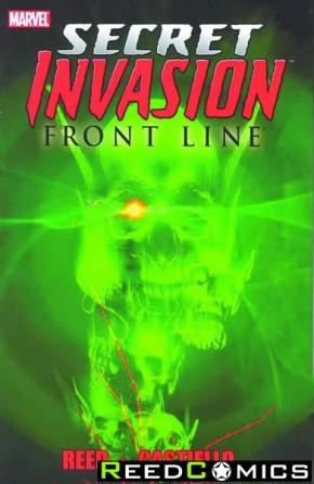 Secret Invasion Frontline Graphic Novel