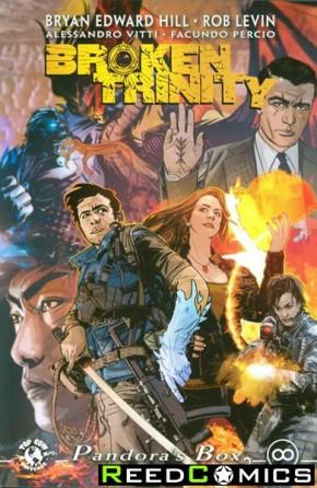 Broken Trinity Volume 2 Pandoras Box Graphic Novel