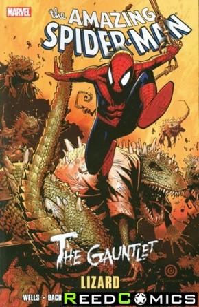 Amazing Spiderman Gauntlet Volume 5 Lizard Graphic Novel