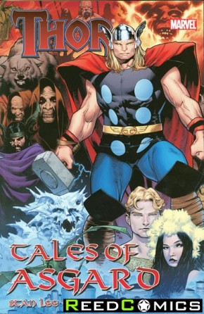 Thor Tales of Asgard Graphic Novel