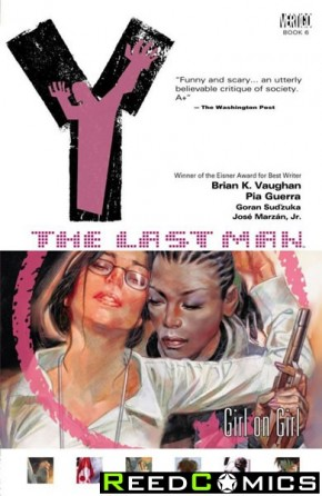 Y the Last Man Volume 6 Girl on Girl Graphic Novel