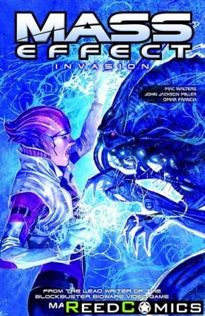 Mass Effect Volume 3 Invasion Graphic Novel