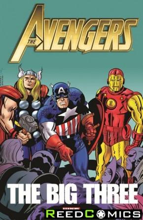 Avengers Big Three Graphic Novel