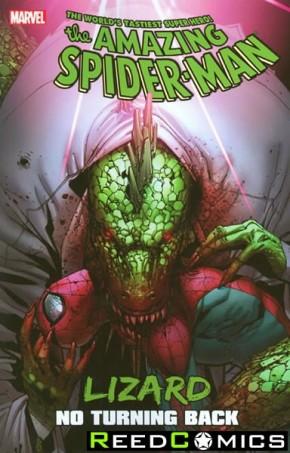 Amazing Spiderman Lizard No Turning Back Graphic Novel