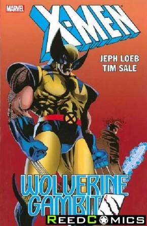 X-Men Wolverine Gambit Graphic Novel