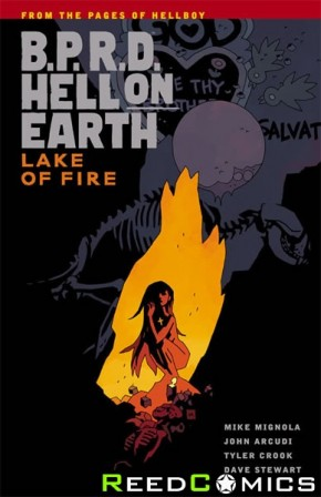 BPRD Hell on Earth Volume 8 Lake of Fire Graphic Novel