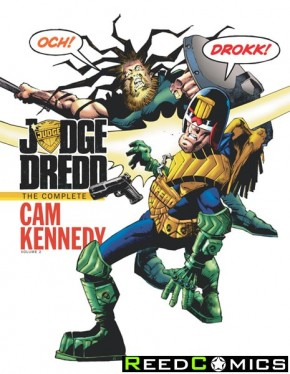 Judge Dredd Cam Kennedy Collection Volume 2 Hardcover