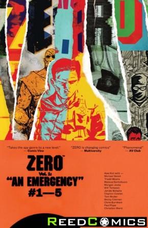 Zero Volume 1 An Emergency Graphic Novel