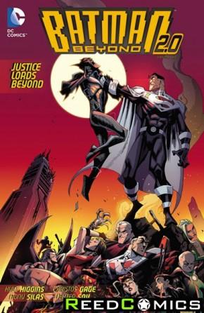 Batman Beyond Justice Lords Beyond Graphic Novel
