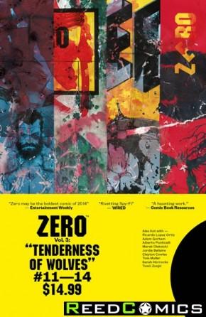 Zero Volume 3 Tenderness of Wolves Graphic Novel