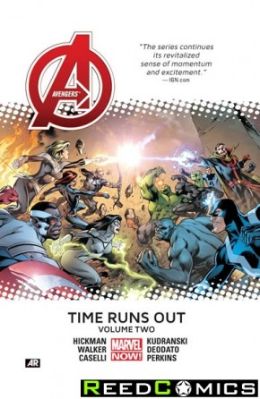Avengers Time Runs Out Volume 2 Premiere Hardcover