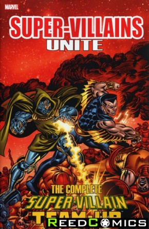 Super Villains Unite Complete Super Villain Team Up Graphic Novel
