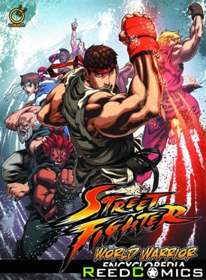 Street Fighter World Warrior Encyclopedia Hardcover