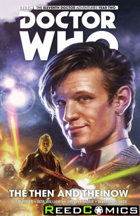Doctor Who 11th Doctor Volume 4 Then and Now Hardcover