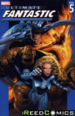 Ultimate Fantastic Four Volume 5 Crossover Graphic Novel