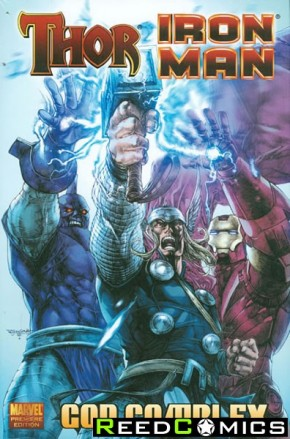 Thor Iron Man God Complex Premiere Hardcover