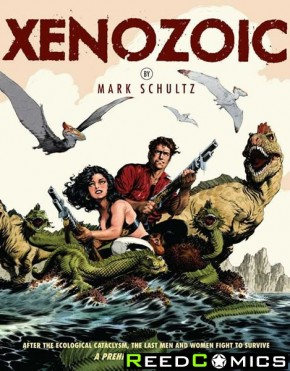 Xenozoic Complete Collection Oversize Graphic Novel