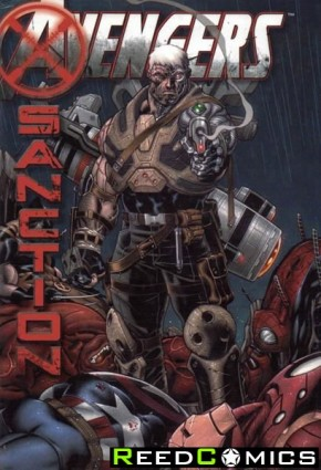 Avengers X-Sanction Hardcover