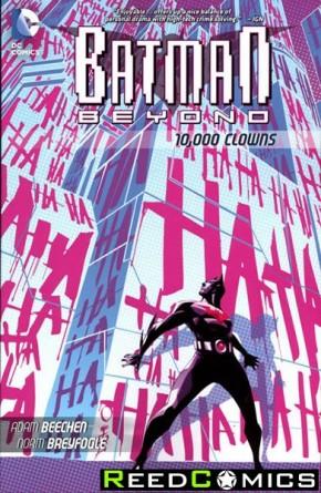 Batman Beyond 10000 Clowns Graphic Novel