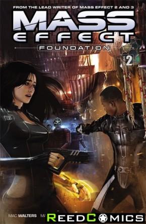 Mass Effect Foundation Volume 2 Graphic Novel