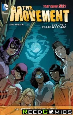 The Movement Volume 1 Class Warfare Graphic Novel
