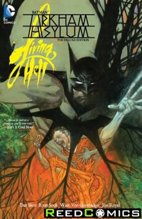 Batman Arkham Asylum Living Hell Deluxe Edition Hardcover