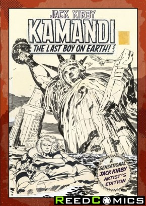 Jack Kirby Kamandi Volume 1 Artist Edition Hardcover