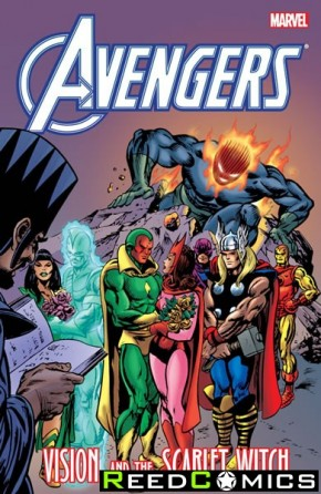 Avengers Vision and Scarlet Witch Graphic Novel