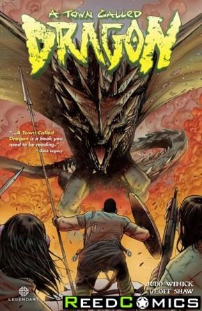 Town Called Dragon Volume 1 Graphic Novel