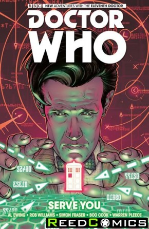 Doctor Who 11th Doctor Volume 2 Serve You Hardcover