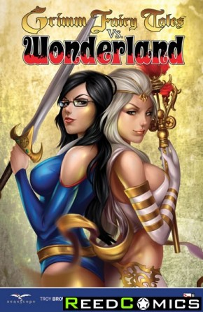Grimm Fairy Tales vs Wonderland Graphic Novel