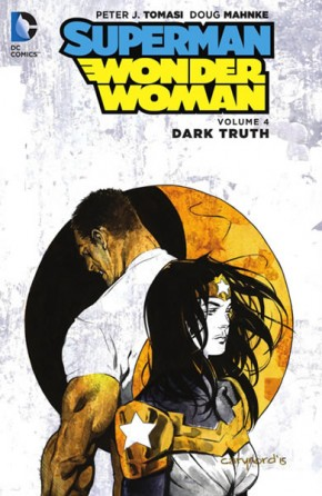 Superman Wonder Woman Volume 4 Dark Truth Hardcover
