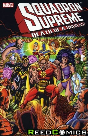 Squadron Supreme Death of a Universe Graphic Novel