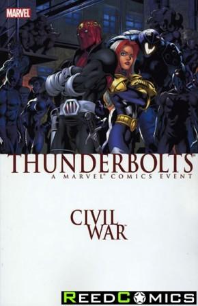 Civil War Thunderbolts Graphic Novel