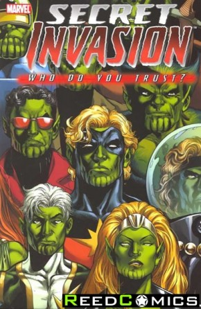 Secret Invasion Who Do You Trust Graphic Novel