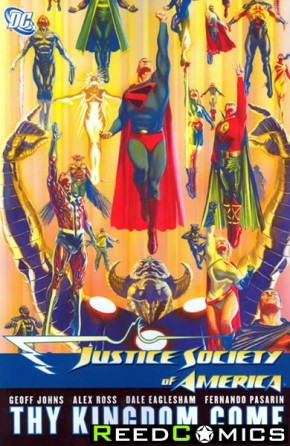 Justice Society of America Volume 4 Thy Kingdom Come Part 3 Graphic Novel