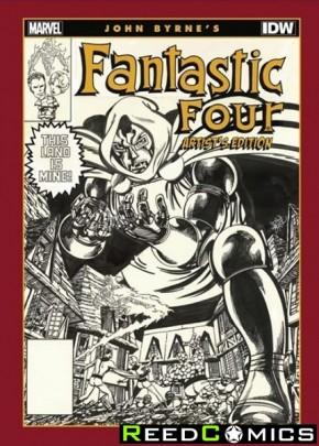 John Byrne Fantastic Four Artist Edition Hardcover