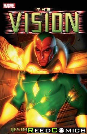 Vision Yesterday and Tomorrow Graphic Novel