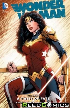 Wonder Woman Volume 8 Twist of Fate Hardcover