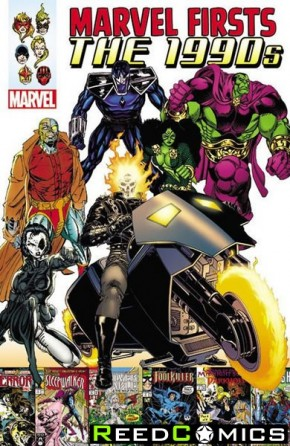 Marvel Firsts 1990s Volume 1 Graphic Novel