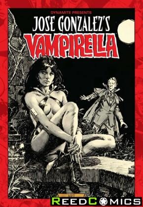 Jose Gonzalez Vampirella Artist Edition Hardcover