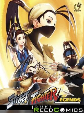 Street Fighter Legends Ibuki Hardcover