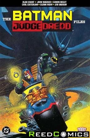 Batman Judge Dredd Files Graphic Novel